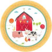 8 Piattini Barnyard - Il cortile