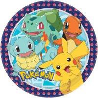Contiene : 1 x 8 Piatti Pokemon Friends