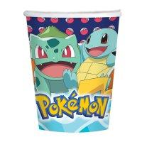 Contiene : 1 x 8 Bicchieri Pokemon Friends