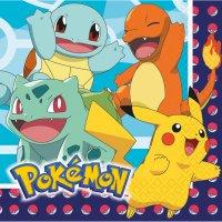 Contiene : 1 x 16 Tovaglioli Pokemon Friends