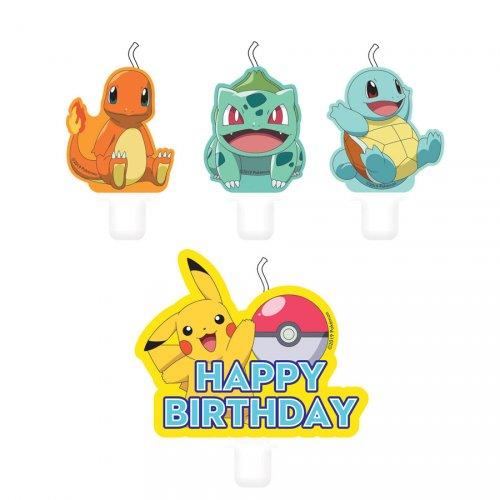 4 candele Pokemon Friends