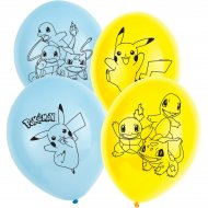 6 Palloncini Pokemon Friends