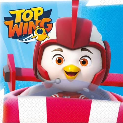 16 Tovaglioli Top Wing