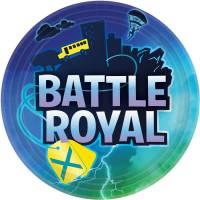 Contiene : 1 x 8 Piatti - Battle Royal