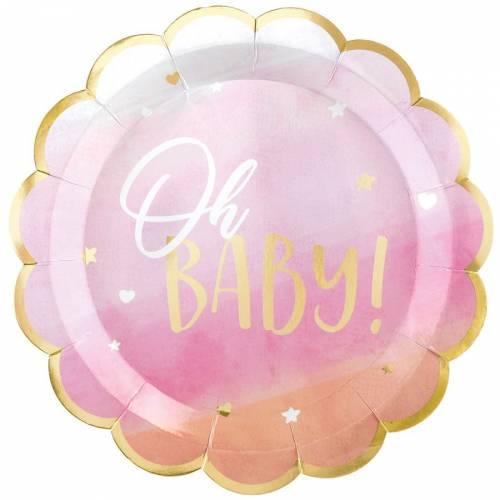 8 Piatti Oh Baby Girl!