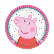 8 Piattini - Peppa Pig Party