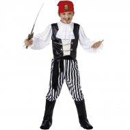 Costume Pirata Bianco e Nero