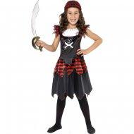 Costume Pirata Gotica Ragazza