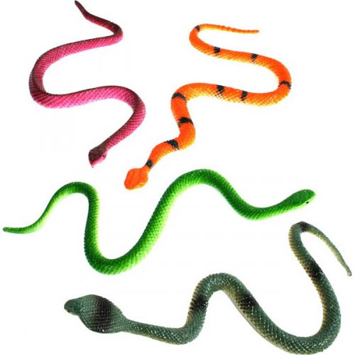 1 serpente di plastica