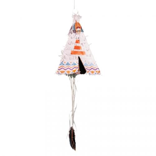 Pull Pinata Tepee Indiano (45 cm)