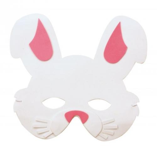 Maschera coniglio - Schiuma