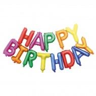 Palloncino Happy Birthday Multicolore (305 cm)