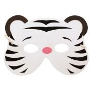 Maschera tigre bianca - Schiuma