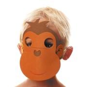 Maschera scimmia - Schiuma