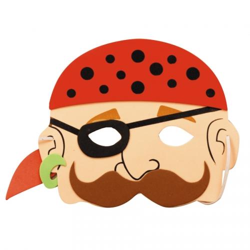 Maschera pirata - Schiuma