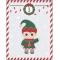 25 Sacchetti di Carta e stickers - Calendario dell'Avvento images:#1