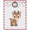 25 Sacchetti di Carta e stickers - Calendario dell'Avvento images:#3