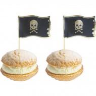 10 Stuzzicadenti decorativi per Cocktail - Pirata