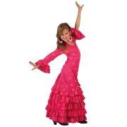 Travestimento da Ballerina Flamenco Rosa 10-12 anni