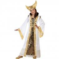 Costume Regina Medievale Oro
