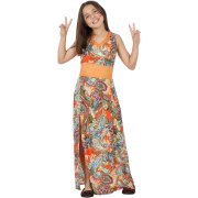 Travestimento Hippie Bambina 10-12 anni