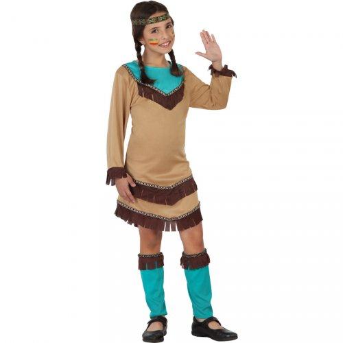 Costume Indiana Apache Blu