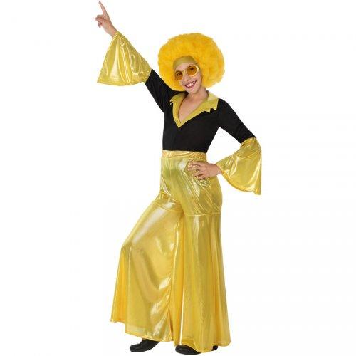 Costume Disco Oro - Ragazza
