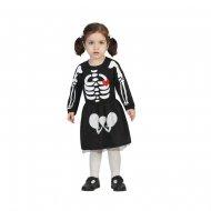 Costume Baby Scheletro Bambina