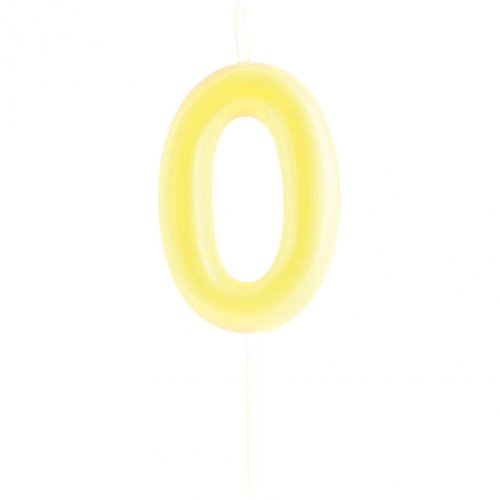 Candela Numero 0 Fosforescente