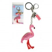 1 maxi portachiavi Flamingo Gioiello Flamingo Rosa