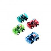1 auto della polizia (6 cm) - Plastica