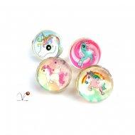 1 Mini Unicorn Bouncing Ball (2,5 cm)