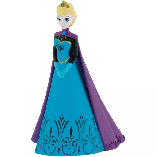 Elsa cape figurina viola (Snow Queen) - Plastica