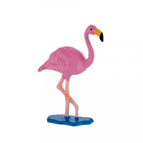 Figurina di fenicotteri rosa - plastica