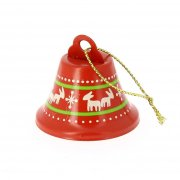 1 Addobbo di Natale Campanellina Natalizia (4 cm) - Metallo