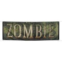 Contiene : 1 x Banner zombie (220 cm)