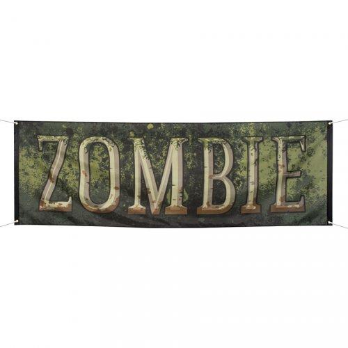 Banner zombie (220 cm)