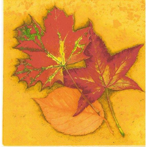 20 Tovaglioli foglie autunnali