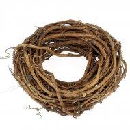 GHirlanda di Natale Nature (30 cm) - Sarmenti di legno