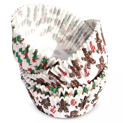 65 pirottini cupcake di Natale