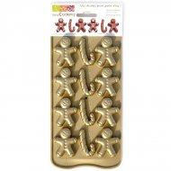 Stampo 12 Cioccolatini Omino di panpepato