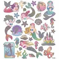 Foglio 32 Adesivi Sirene