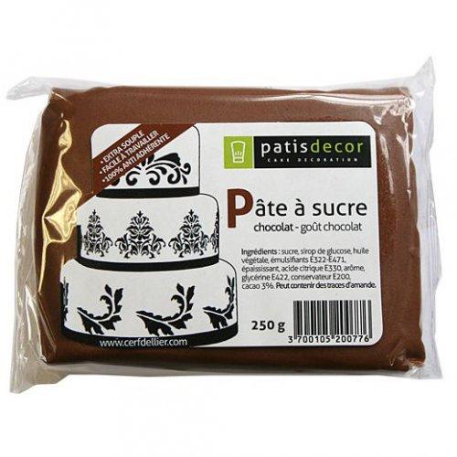 Pasta di zucchero al cioccolato Patisdécor 250g