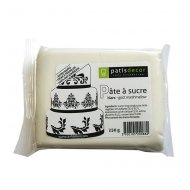 Pasta di zucchero marshmallow bianco Patisdécor 250g