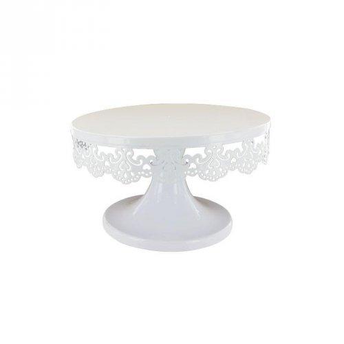 Espositore per torta ricamo (18 cm) - Metallo