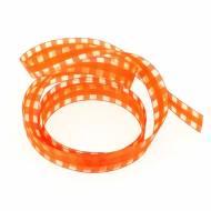 Nastro a Quadretti Arancione (2,5 cm - 2 m)