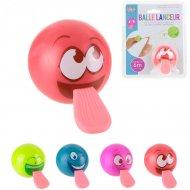 Emoticone Ball con lancialingua (5 cm)