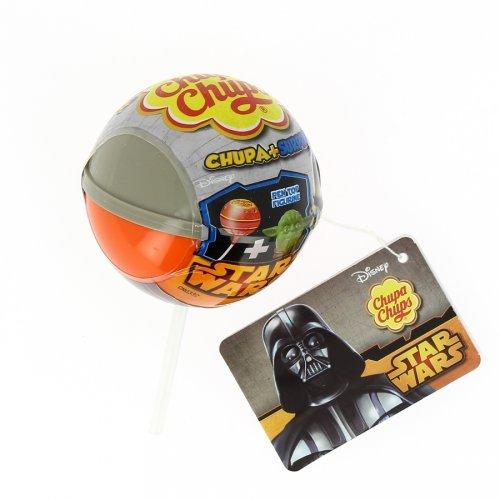1 ciuccio Chupa Chupa Chups + sorpresa Star Wars