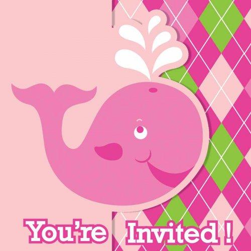 8 Inviti Ocean Rose