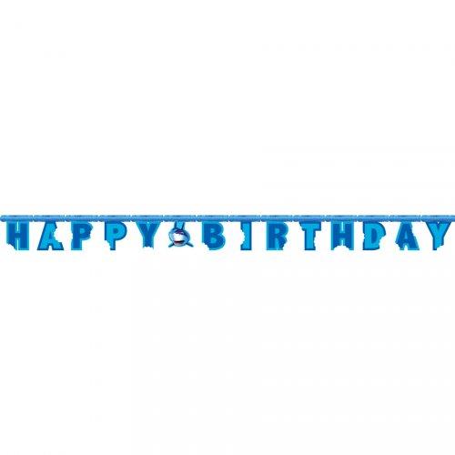 Ghirlanda lettere Happy Birthday Squalo